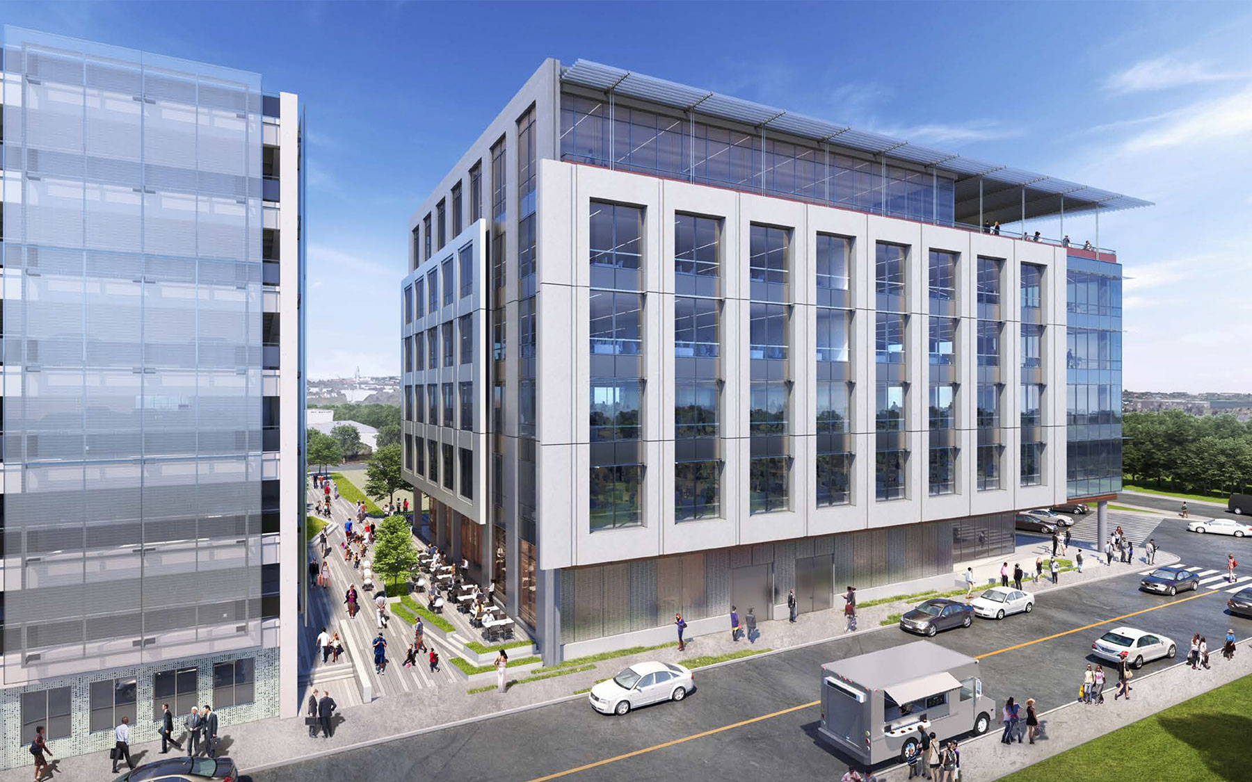 Charleston Tech Center rendering