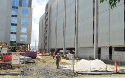CRBJ – Charleston Tech Center rising with glass, steel, collaboration